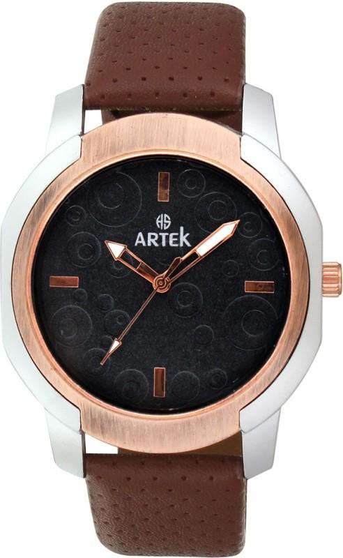 Artek -4015-SILVER-COPPER Analog Watch - For Men