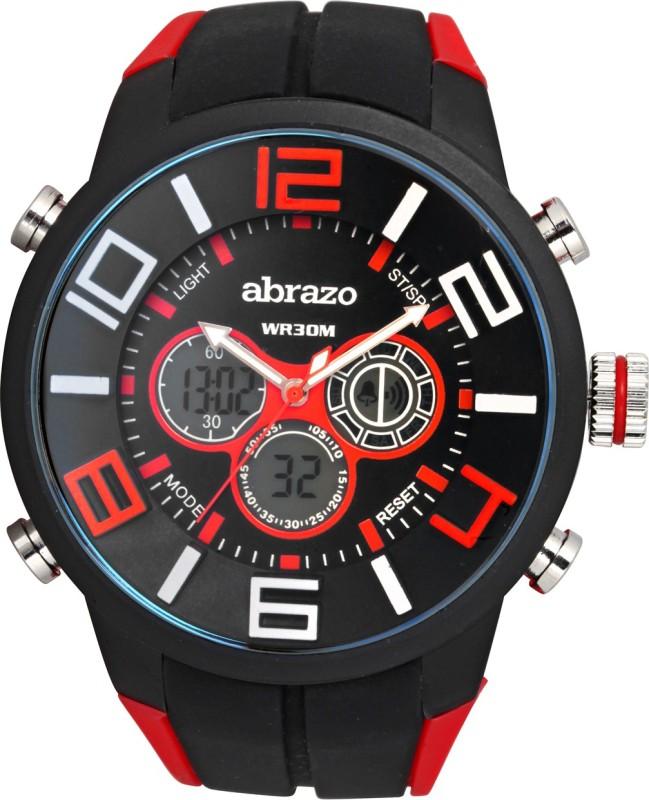 Abrazo SPRT-3-DIGITAL-RD Sports Analog-Digital Watch - For Men