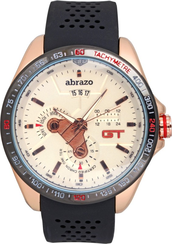 Abrazo GT-BLT-WH Men's Watch