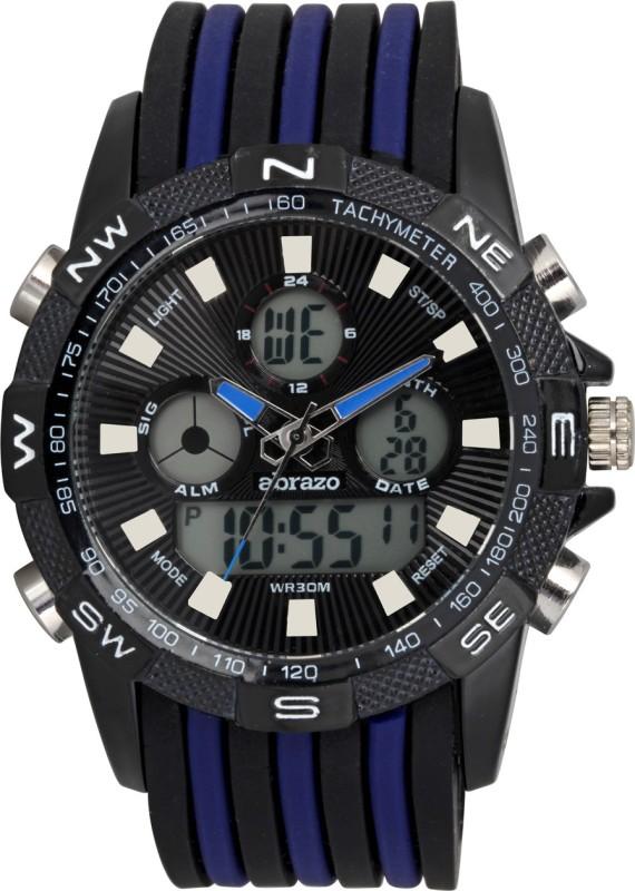 Abrazo SPRT-4-DIGITAL-BU Sports Analog-Digital Watch - For Men