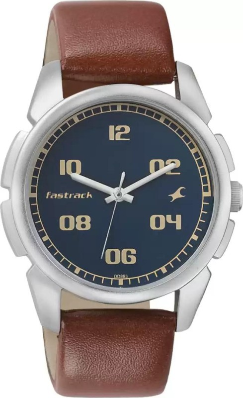 Fastrack NG3124SL02 Bare Basic Watch - For Men