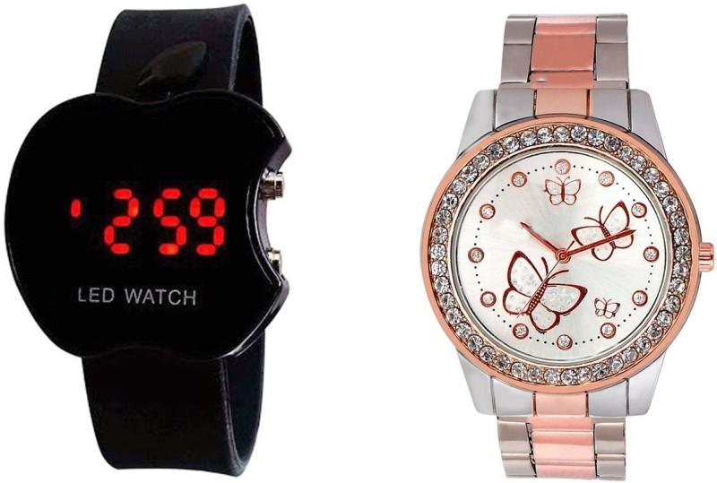 Declasse SOOMS LED - 7845 SOOMS LED Analog-Digital Watch - For Men & Women