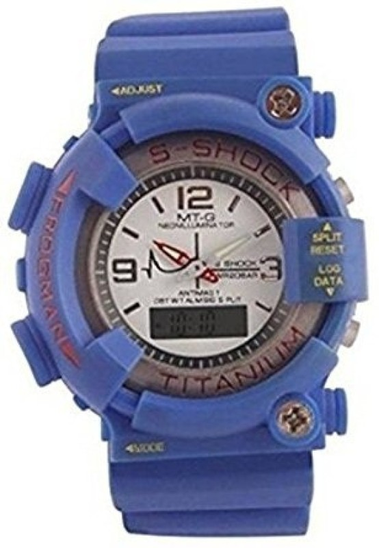Skmei MT-G-0098 DUAL TIME SPORTS WATCH Boy's Watch image