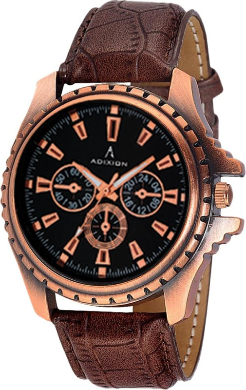 ADIXION 133KL01 New Chronograph Pattern Antique Analog Watch - For Men & Women