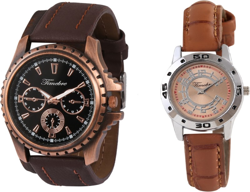 Timebre CPLCOM100 Trendy Couple Watch image