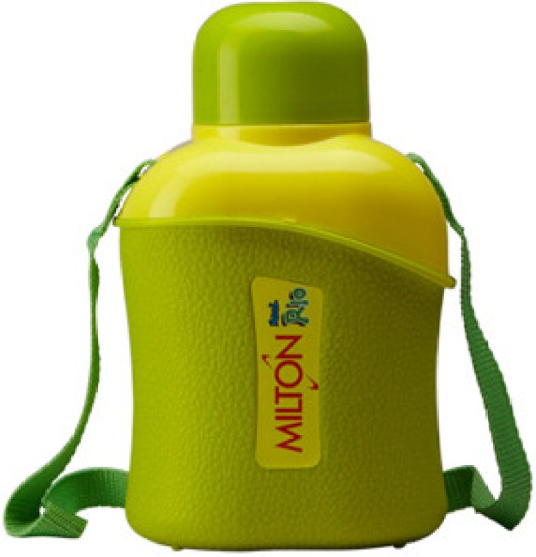Milton Kool Rio 600 School Range 600 ml Water Bottles(Set of 1, Green)