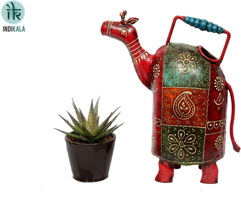 Indikala Water Pitcher Camel Shaped 1 L Water Cane(Red, Pack of 1)