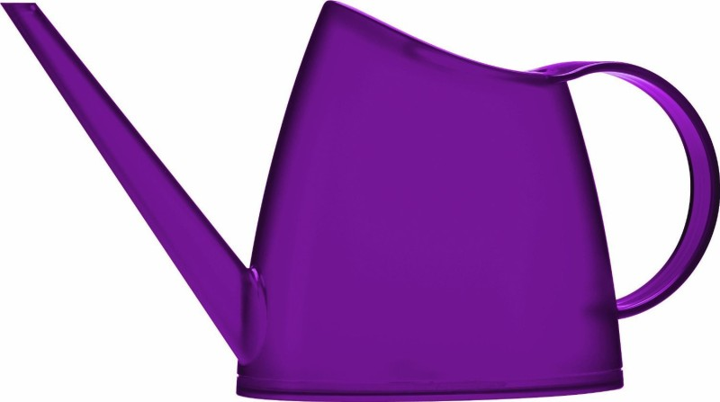 Shrih Purple Plastic Watering Can 1 L Water Cane(Purple, Pack of 1)