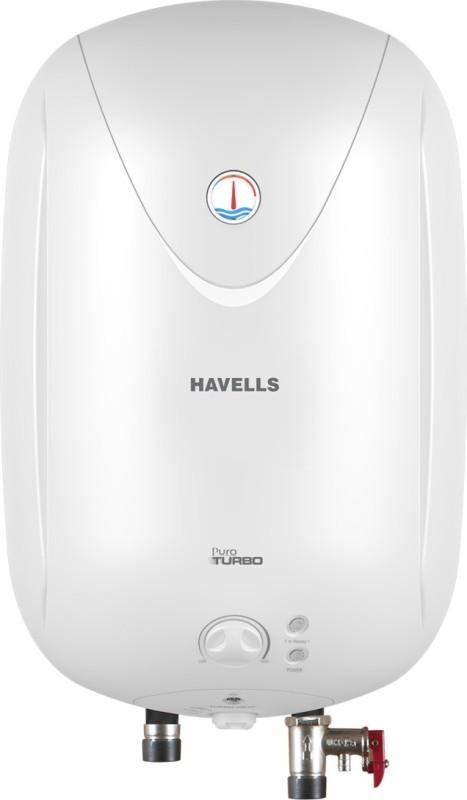 Havells 25 L Storage Water Geyser(White, Puro Turbo25_White)