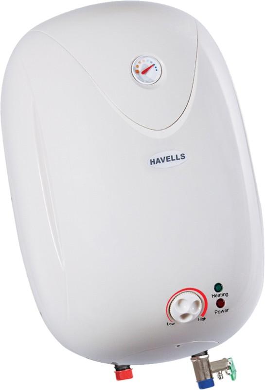 Havells 10 L Storage Water Geyser(White, puro plus)