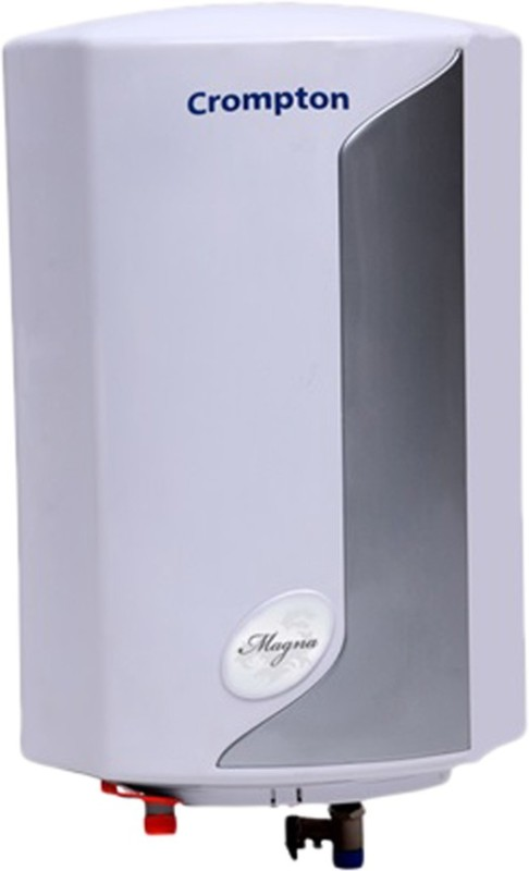 Crompton 10 L Storage Water Geyser(Grey, White, Magna)