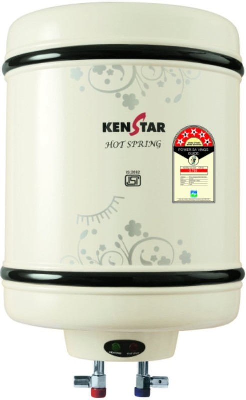Kenstar 25 L Electric Water Geyser(White, Hot Spring KGS25W5M)
