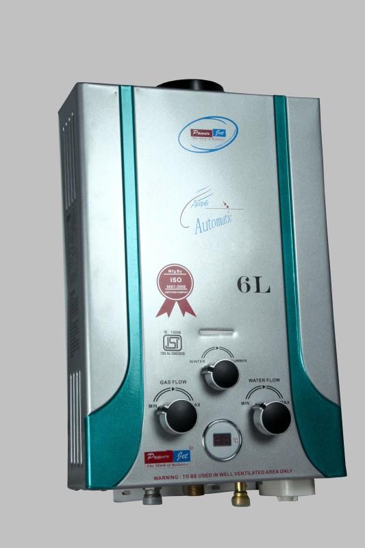 POWERJET 6 L Gas Water Geyser(White, PMZ)