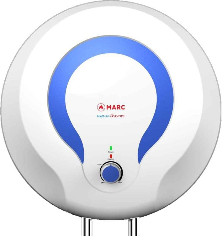 Marc 10 L Storage Water Geyser(White, Aquatherm 10 VWH)