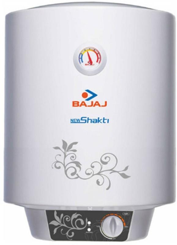 Bajaj 10 L Storage Water Geyser (New Shakti Glasslined, White)