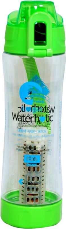 Waterholic 600 ml Water Purifier Bottle(Green, Clear)