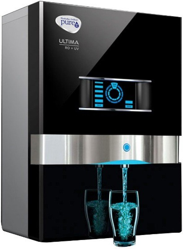 Pureit Ultima 10 L RO + UV Water Purifier(Black)