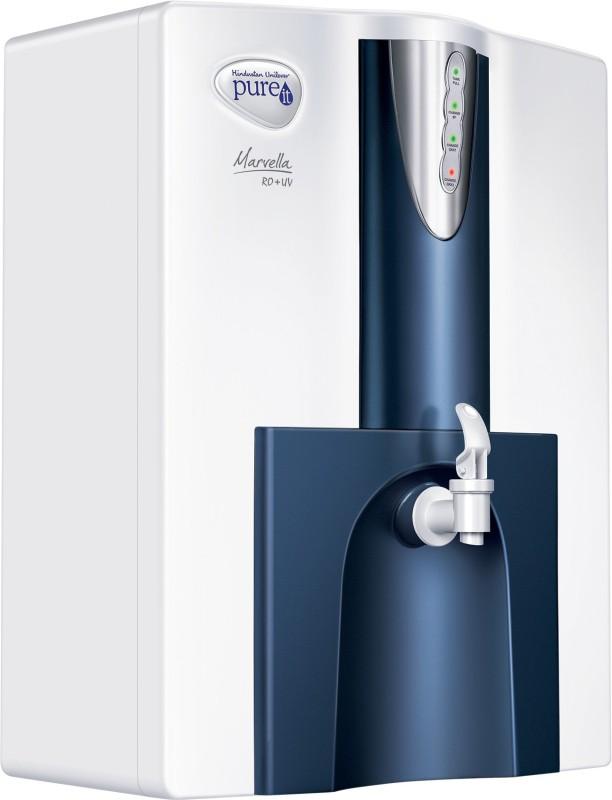 Pureit Marvella 10 L RO + UV Water Purifier(White &...