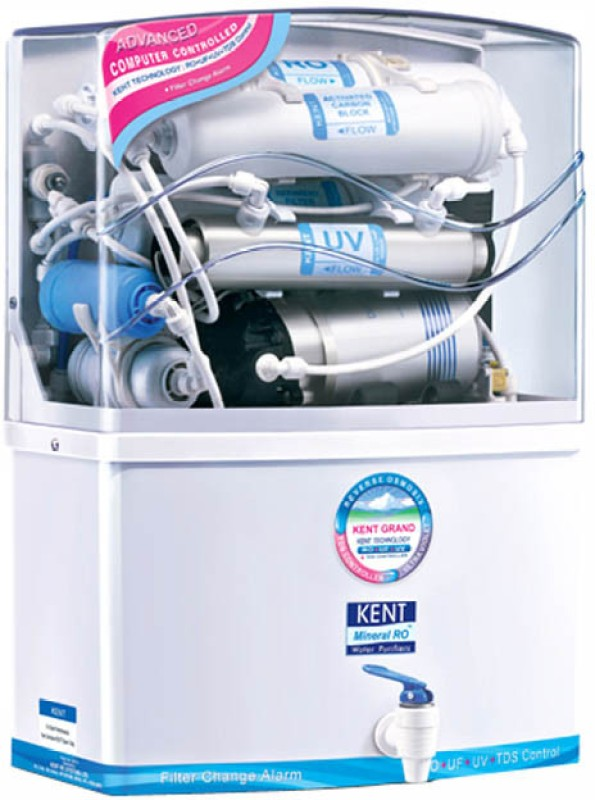 Kent Grand 8 L RO + UV +UF Water Purifier(White)