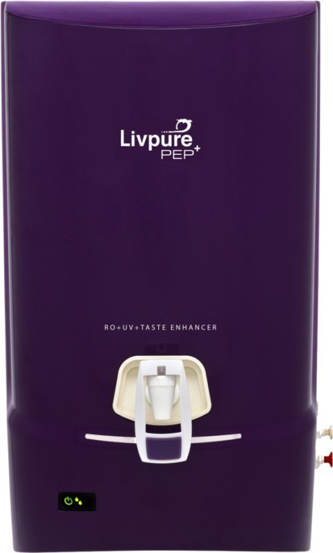 Livpure Pep Plus 7 L RO + UV Water Purifier(Purple)