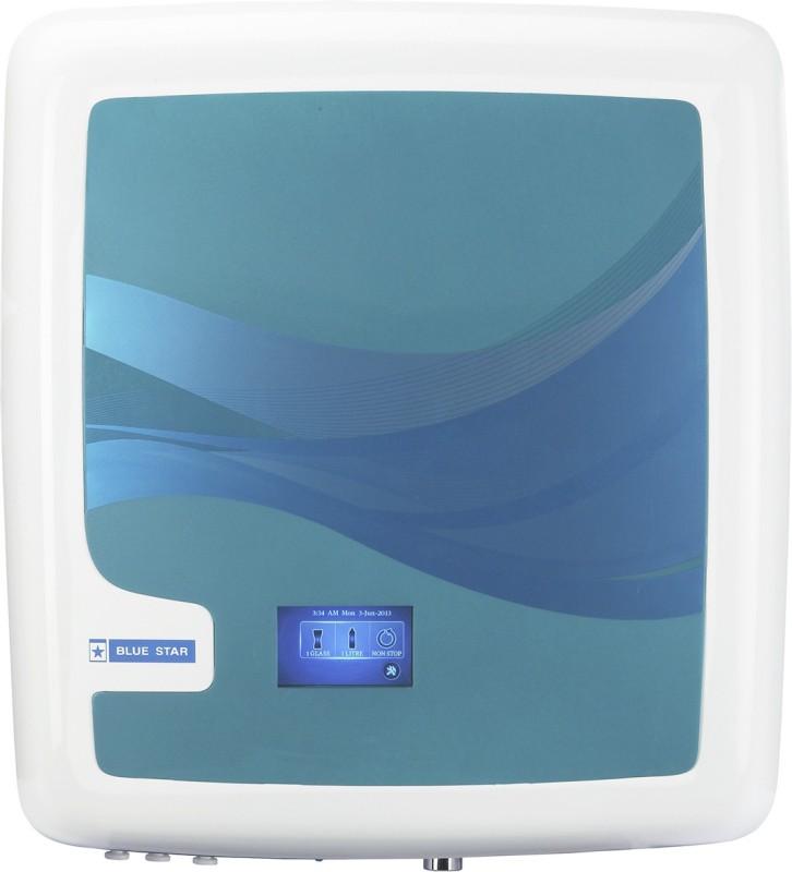 Blue Star Edge RO+UV 6 L RO + UV Water Purifier(White, Blue)