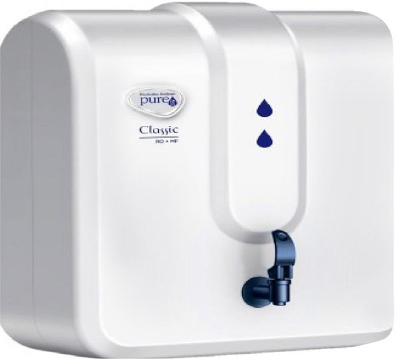 Pureit Classic RO + MF Water Purifier 5 L RO + MF Water Purifier(White)
