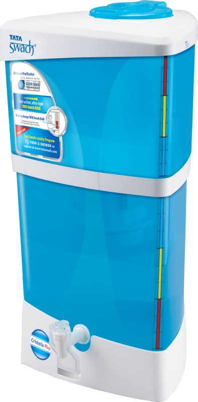 Tata Swach Cristella+ 9 L Gravity Based Water Purifier(Blue &...