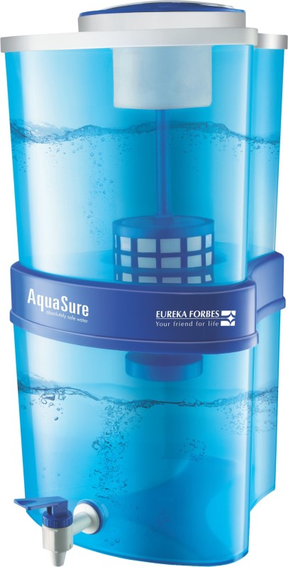 Deals - Thanjavur - Eureka Forbes Aquasure Xtra Tuff 15 L Gravity Based Water Purifier <br> Gravity Based<br> Category - Appliances<br> Business - Flipkart.com