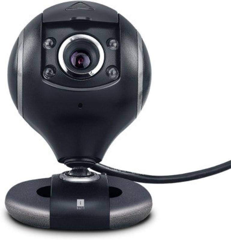 iBall ROBOK20 Webcam(Black)