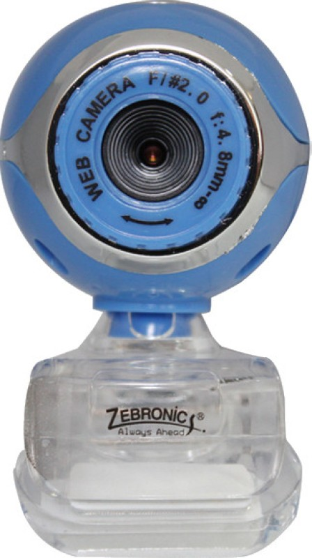 Zebronics Lucid Plus Webcam(Blue) image