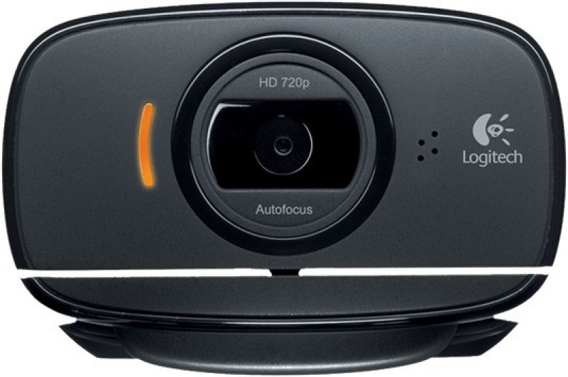 Logitech HD WEBCAM C525 Webcam(Black)