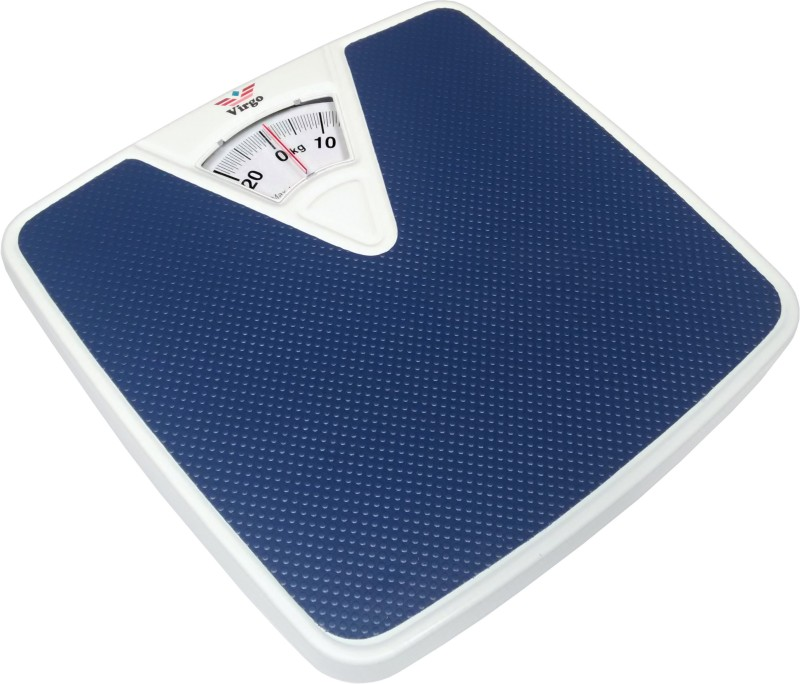 GVC Virgo Analog Manual Personal Bathroom Health Body Weighing Scale(Blue)