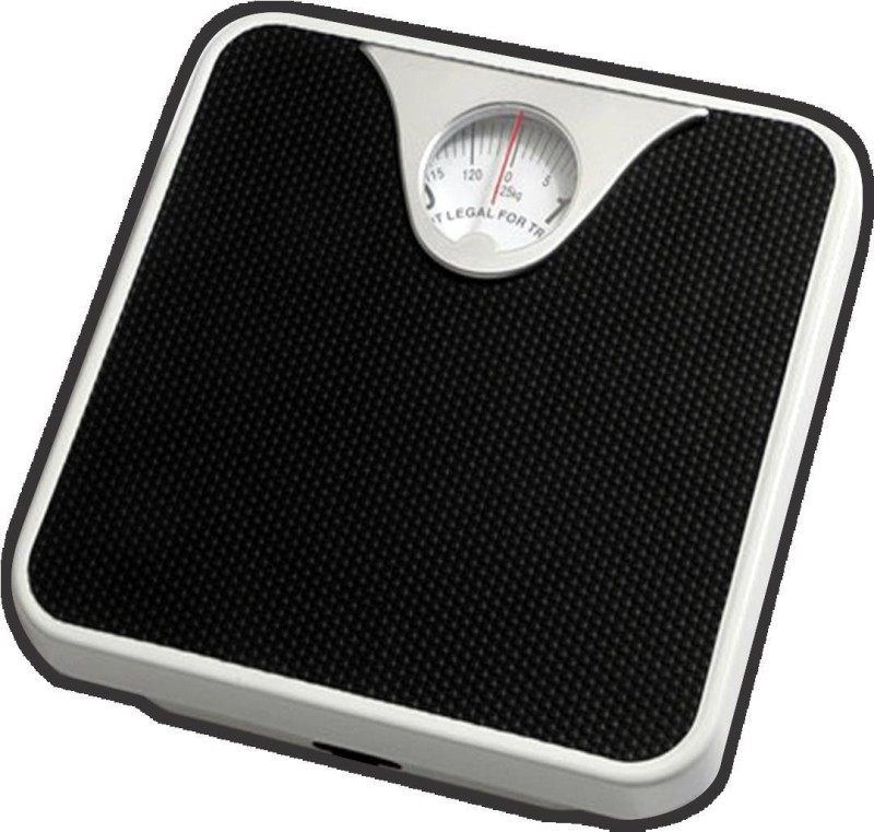 Smart Care Adult Personal Weighing Scale(Black)