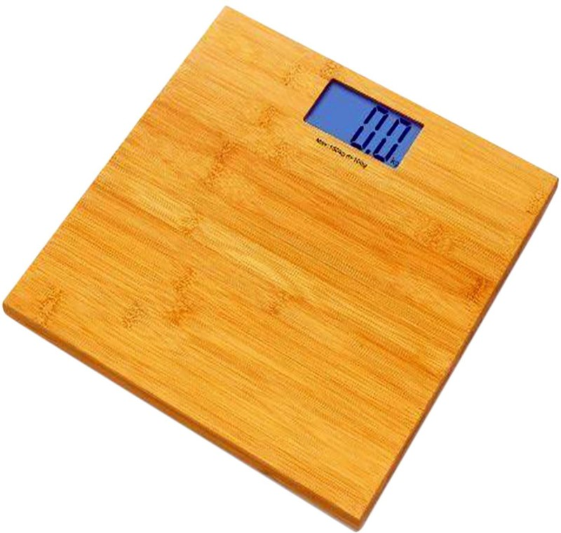 GVC Wood Weighing Scale(Brown, Tan)