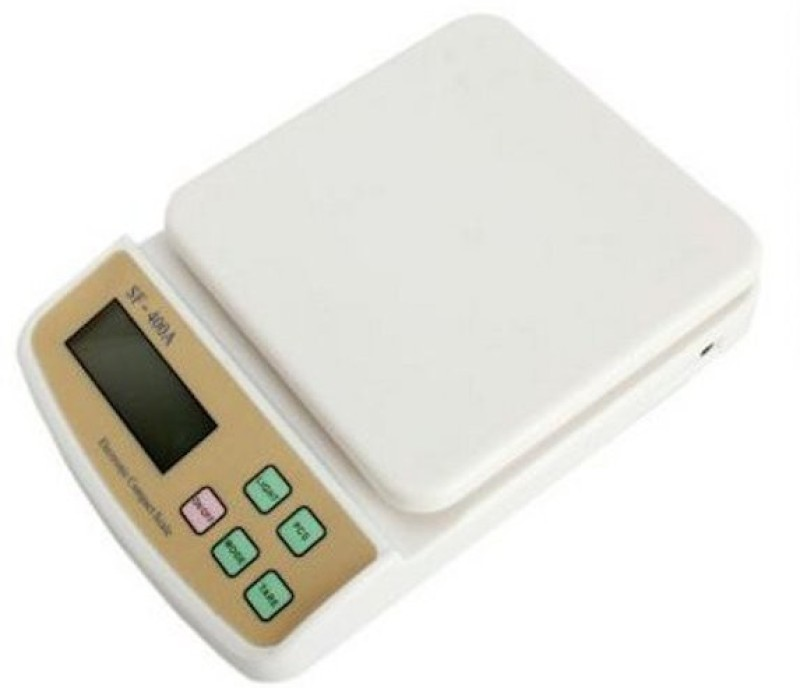 UNIQUE COLLECTIONS Venezia Weighing Scale(White)