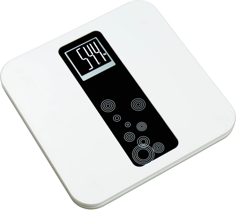 GVC High Quality Built Weighing Scale(White)