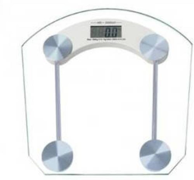 degital scale square weight machine Weighing Scale(White)