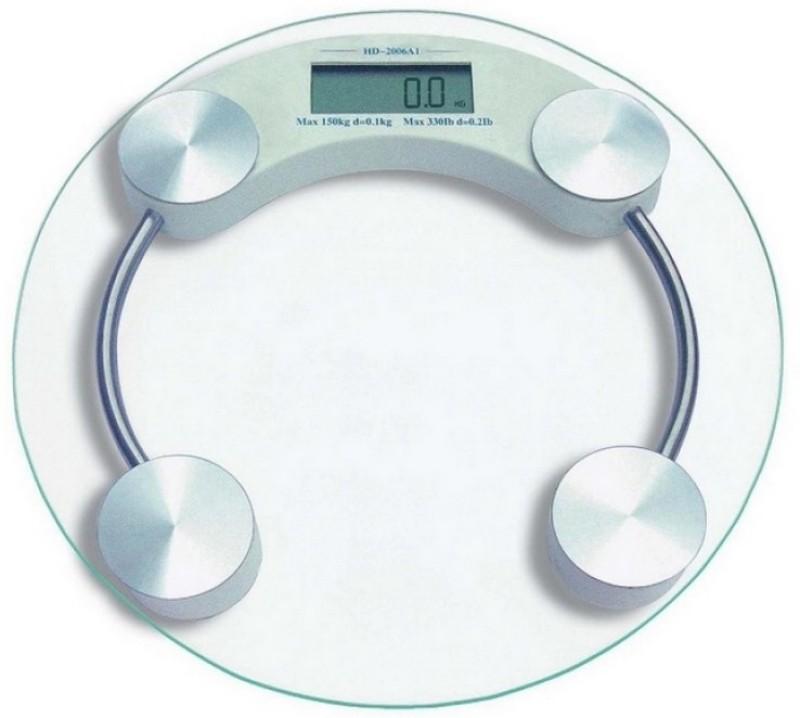 MTC Digital Display 150 Kg Personal Bathroom Weighing Scale(White)