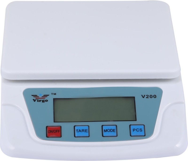 Zblack Ts-500v White Electronic Digital 12kg With Adapter Weighing Scale(Multicolor)