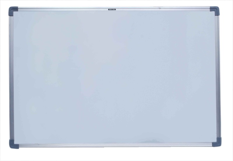 Roger & Moris Regular Non Magnetic Melamine Medium Whiteboards(Set of 1, White)