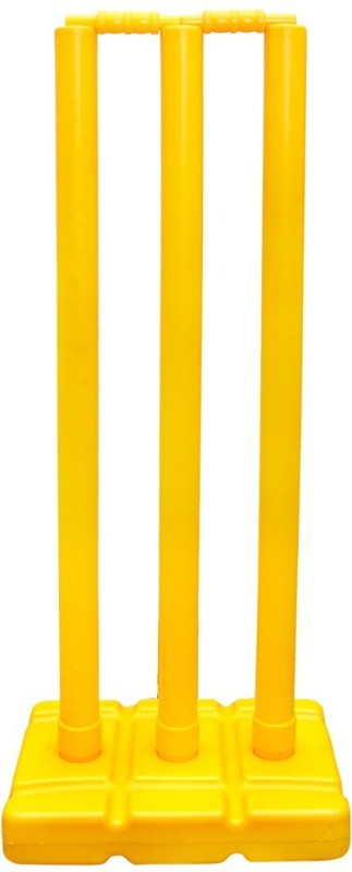 Sahni Sports Plastic Stumps Set(Yellow)
