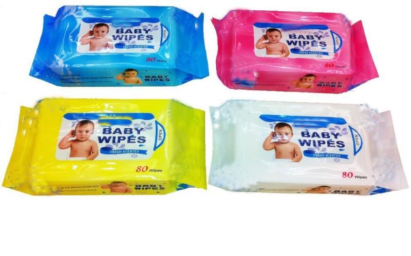 Vinayaka Baby wipes set of 4(4 Pieces)