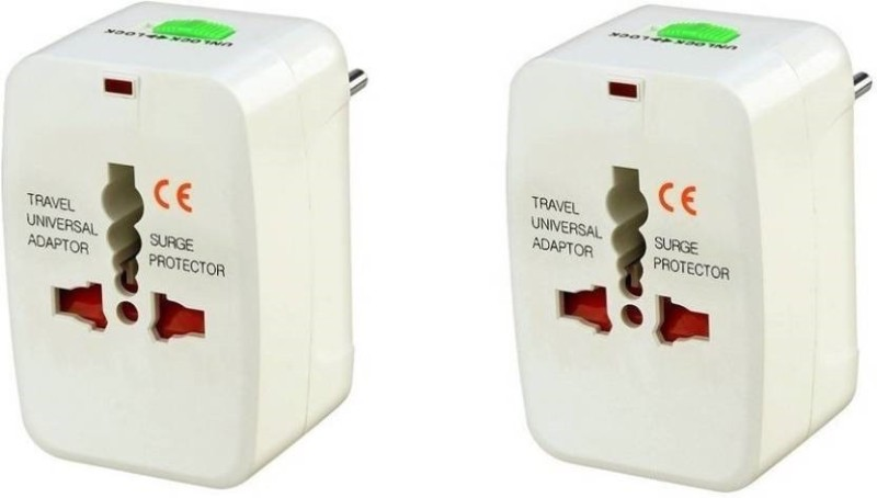 TechGear Universal Worldwide Adaptor(White)