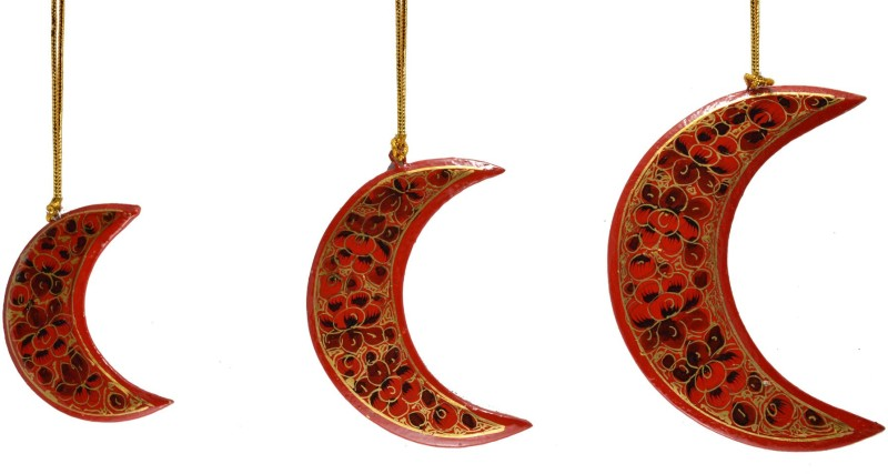 Craftuno 50112 Hanging Ornaments Pack of 3