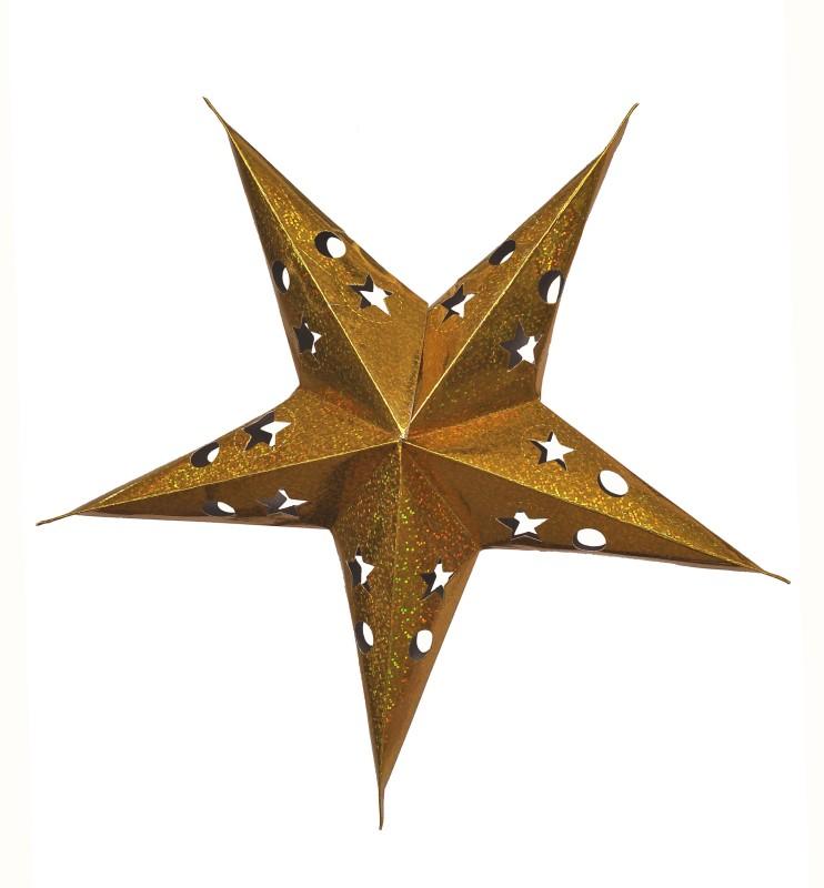 Indigo Creatives Star 1 Hanging Star Pack of 1