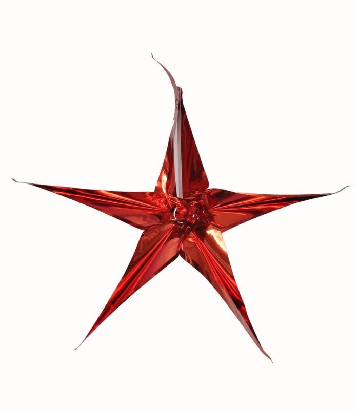 Indigo Creatives Christmas Tree / Door / Wall Hanging Light Cover Star Decoration Hanging Star Pack of 1