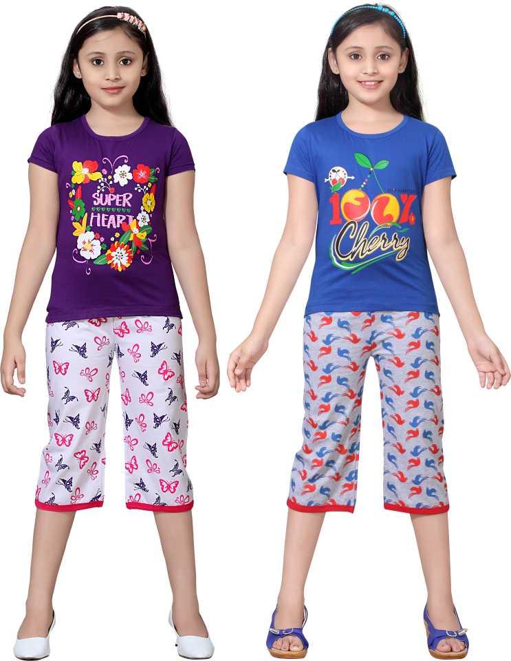 c7e99d22de Sini Mini Night Suit Girls Combo - Buy Sini Mini Night Suit Girls Combo  Online at Best Prices in India | Flipkart.com