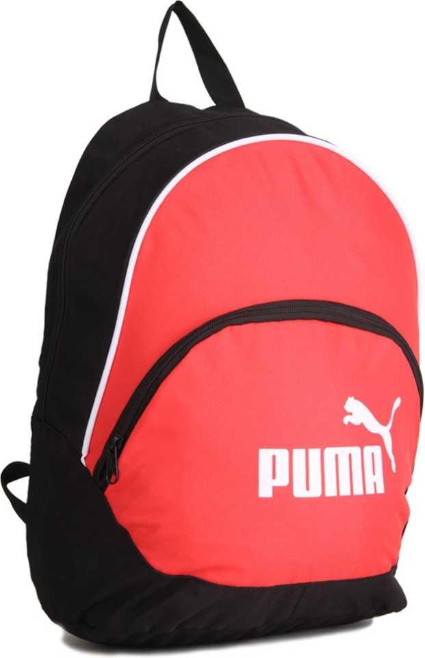 Backpack  (Black, Red)