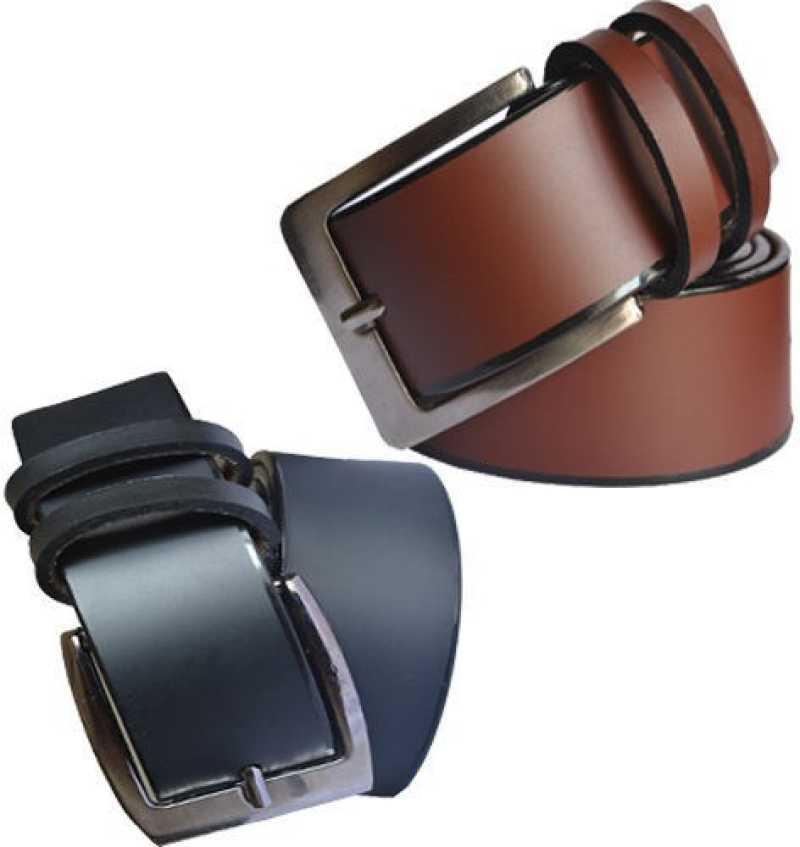 Men Formal Multicolor Artificial Leather Belt