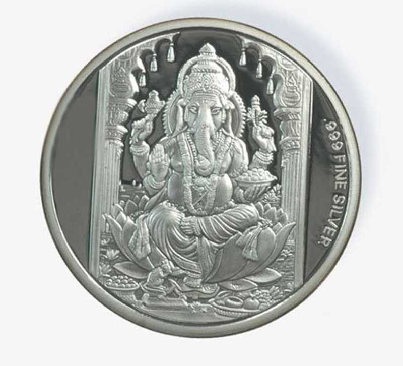 Ag Jewellery Ganesh S 999 10 G Silver